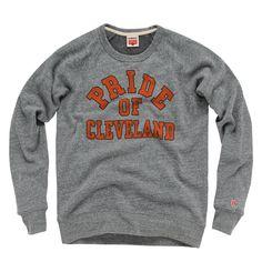 HOMAGE Pride of Cleveland Crewneck Sweatshirt