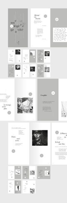 -- if U like it, contact us at madproduction. -- A slight gravity - Editorial Design on Behance Layout Design, Design De Configuration, Web Design, Print Layout, Contents Page Design, Mise En Page Portfolio, Portfolio Design, Brochure Layout, Brochure Design