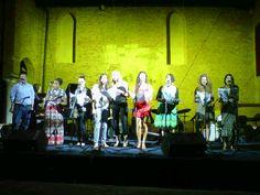 il Choir of Angels di Amy London nella serata combos all'auditorium S.Nicolò di Chioggia, domenica 22 luglio 2012