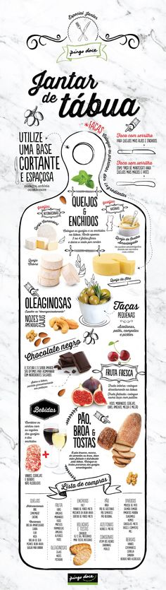 """- Ideia de refeição: jantar de tábua Board dinner: just put the ready-to-eat ingredients on the board and start to """"nibble"""" Healthy Menu, Healthy Recipes, Easy Vegan Dinner, Vegan Dinners, Food Hacks, Appetizer Recipes, Food Inspiration, Love Food, Food Porn"""
