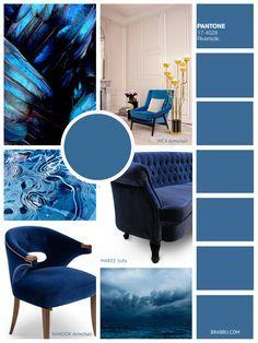RIVERSIDE | Fall 2016 Color Trends According To Pantone | Home Decor. Interior Design Trends. Decorating Ideas #homedecor #pantone #colortrends #interiordesign Read more: https://www.brabbu.com/en/inspiration-and-ideas/trends/fall-winter-2016-2017-color-trends-according-pantone
