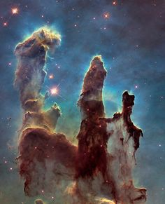 NASA's Astronomy Picture Of The Day: Hubble 25th Anniversary: Pillars Of…