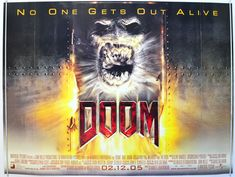Doom - Original Quad Movie Poster