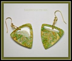 polymer clay earrings | Beadazzle Me Polymer Jewelry Blog