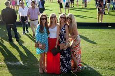 Weekender: Sunday Polo Best Dressed January 6th- Shannon Perez, Beth Beattie, Danielle Norcross and Chelsea Lasater