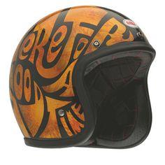"New Graphics for Bell Custom 500 Helmets ""Good Times"""