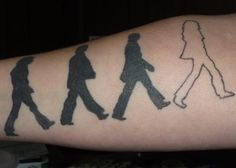 Abbey Road tatt