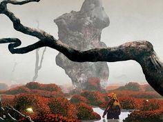 Sci-Fi Surreal Album Covers by Dan McPharlin: Dan-McPharlin_web2.jpg