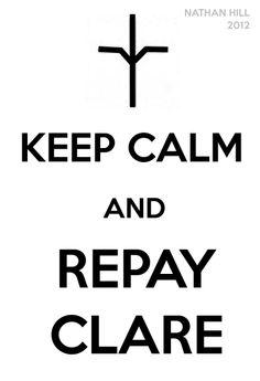 Claymore Keep Calm Jean