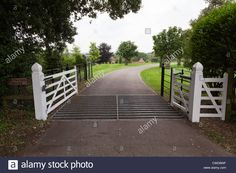 Image result for electric driveway gates with cattle grid