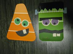 Halloween Paint Chip door dec
