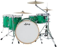 Ludwig Releases Centennial Maple Series Drums