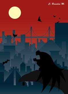 Batman Vector by BMendoza22