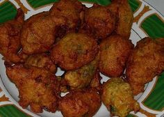 Salted Cod Fish cakes or Accra #Barbados #Food