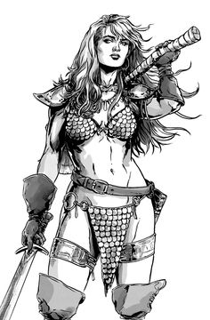 Red Sonja - Marc Laming