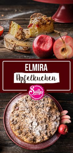 ELMIRA APPLE CAKE SALLY S WORLD Kuchen Recently I was able to baptize a new apple variety together with our friend Christian from the M ller tree nursery nbsp hellip Dessert Party, Apple Varieties, Apple Cake, Mole, Bakery, Toast, Biscuits, Health Fitness, Homemade