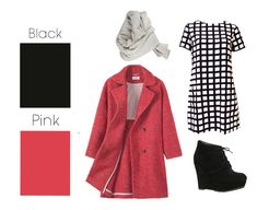 Black & Pink | 26 Essential Fall Color Palettes You Need To Try