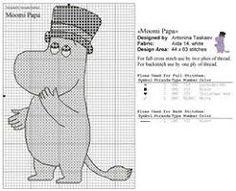 Bilderesultat for moomin cross stitch pattern Cross Stitching, Cross Stitch Embroidery, Cross Stitch Patterns, Knitting Charts, Knitting Patterns Free, Beading Patterns, Embroidery Patterns, Les Moomins, Tove Jansson