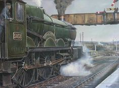 Image result for the evening star locomotive paintings