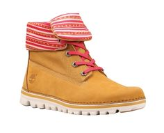 Women's Earthkeepers® Brookton Canvas Roll-Top Boot - Timberland. I. NEED. THESE.