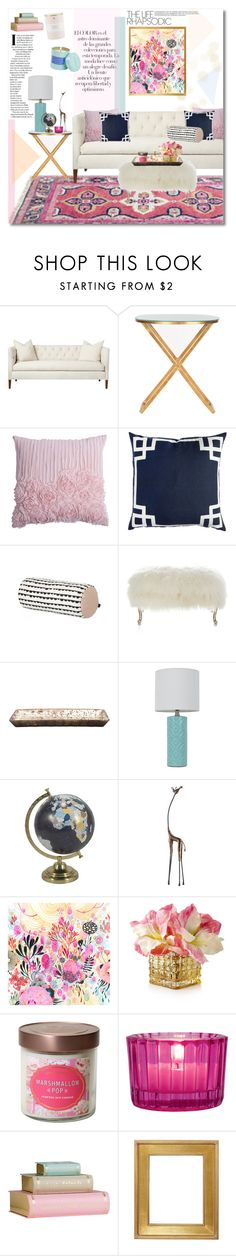 """Rhapsodic Life"" by katrinaalice ❤ liked on Polyvore featuring interior, interiors, interior design, home, home decor, interior decorating, Arco, Safavieh, Rizzy Home and ferm LIVING"