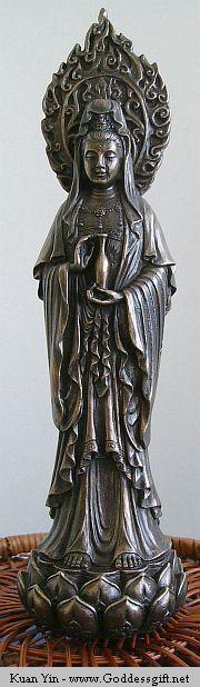 Quan Yin, goddess of compassion / Namo Đại Bi Cứu Khổ Cứu Nạn Quán Thế Âm Bồ Tát .(Vietnamese) .