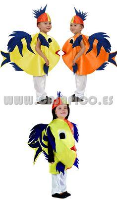 #disfraz de Pez infantil,convertirás a los más pequeños en unos peces adorables Disponible en varias tallas #casapico #disfracescasapico
