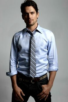 Matt -- HE is the one who should play Christian Grey in 50 Shades movie!! For sure!!