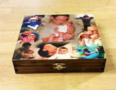 Custom Photo Collage, Photo Collage Box, Personal Collage Keepsake Box, Photo Collage, Personal Photos, Customized Photo Box, Photo Box by LybelleCreations on Etsy