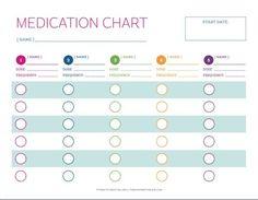 daily medication log printable
