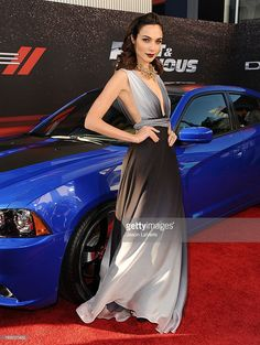 Actress Gal Gadot attends the Premiere of 'Fast & Furious 6' at Universal CityWalk on (May 21, 2013) in Universal City, California.