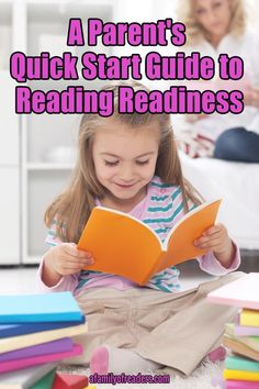 "Are you ready to raise a reader? Download ""A Parent's Quick Start Guide to Reading Readiness"" today to learn how to set your child up for success in learning to read. You'll be glad you did! Click through and download yours for free today."