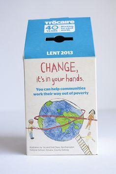 Trocaire box 2013 Marketing Program, Online Marketing, Digital Marketing, National School, Lent, Non Profit, Charity, Irish, Social Media