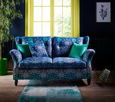 The Kemp has everything you need from a sofa collection elegant arms, comfortable seats, high back, stunning cover and solid wood legs. See this lovely sofa at Lenleys now.