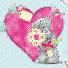 "♥ Tatty Teddy ~ ""A Little Note For You"" Me to You™ Bear Card. ♥"