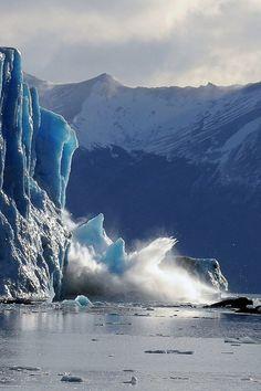 Glacier Caving