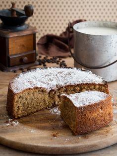 Torta caffellatte - dolce da colazione