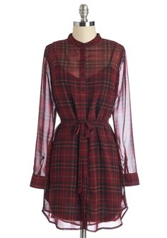Good to Go All Out Dress. Keep it real in this dress from Jack by BB Dakota. #red #modcloth