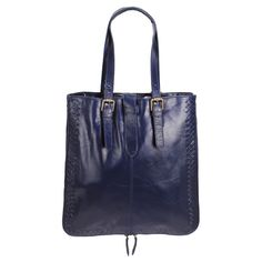 Navy blue tote from Layla Grace