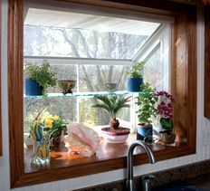 Garden Window Project: A Garden Window Can Transform Your Kitchen Into A  Bright, Airy Space. Great Ideas