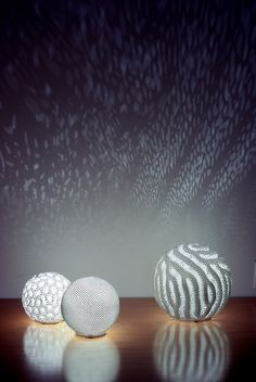 reaction lamps by nervous system, via Flickr