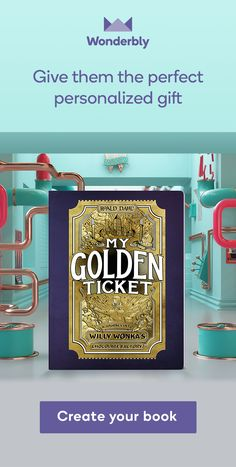 Send a child on their own glorious adventure through Willy Wonka's chocolate factory. This super-personalised gift book even includes an Oompa Loompa song, all about them! Who will you take on the tour of a lifetime?