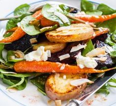 Roast Delight Potato, beetroot and carrot salad | Australian Healthy Food Guide