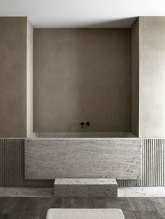 Nicolas Schuybroek | AD Intérieurs 2018 #toilet&bathdesign Minimalist Bathroom, Minimalist Interior, Modern Bathroom, Bathroom Ideas, Italian Bathroom, Colorful Bathroom, Beige Bathroom, Bathroom Trends, Bathroom Inspo