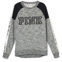 PINK ($50) ❤ liked on Polyvore featuring tops, sweaters, shirts, blusas, long sleeves, pink top, long-sleeve shirt, pink sweater, shirt sweater and extra long sleeve shirts