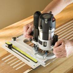 Rockler Router Fluting Jig Woodworking Jigsaw, Rockler Woodworking, Woodworking Hand Tools, Woodworking Logo, Woodworking Videos, Woodworking Furniture, Woodworking Projects Plans, Woodworking Basics, Woodworking Machinery