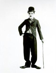 Charlie Chaplin-- want this on my arm.. forearm orrrrrrrrrr