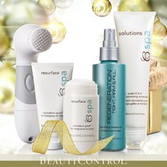 Give the gift of beauty... HEAD TO TOE with #BeautiControl! Age-Defying Body Treatment and Instant Face Lift are sure to lift your holiday spirits!