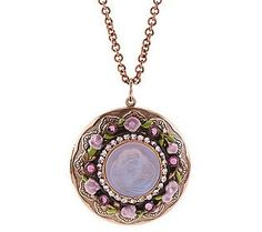 Love this! Kirks Folly Seaview Locket Necklace
