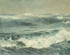 The Roaring Forties, 1908 Frederick J. Waugh